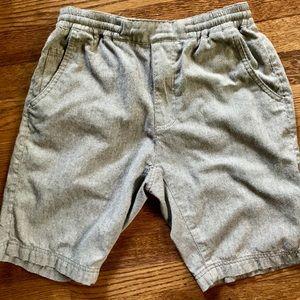 H&M casual drawstring shorts light grey